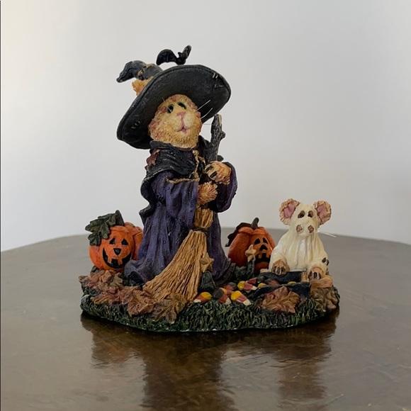 NWT Boyd's Bears Purrstone Resin Cat Figurine